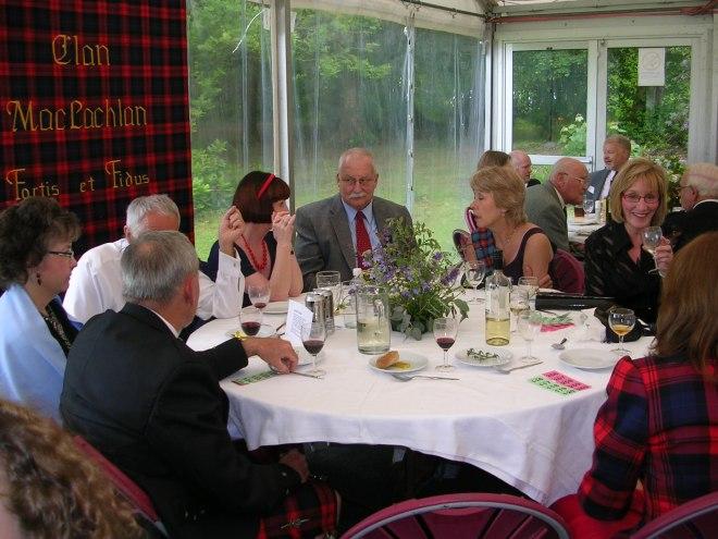 Clan Members at Dinner Dance 2009